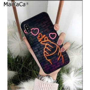 Neon Bae iPhone Case
