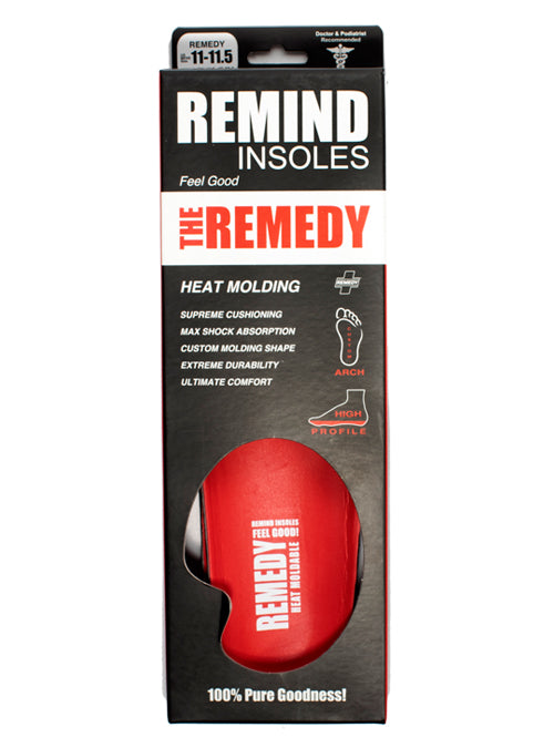 REMEDY - Heat Moldable