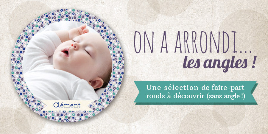 chouette-cards faire part rond