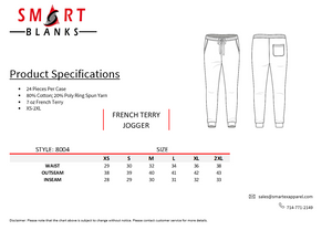 French Terry Fashion Jogger
