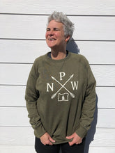 Load image into Gallery viewer, PNW on French Terry Crew Neck Pullover