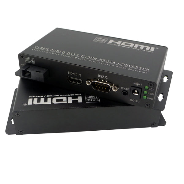 HDMI/RS232/IR to fiber Converter