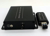 USB 3.0 Fiber Extender to Max 250 Meters over Fiber (MMF or SMF) w/ SFP module, Support 5Gbps Speed
