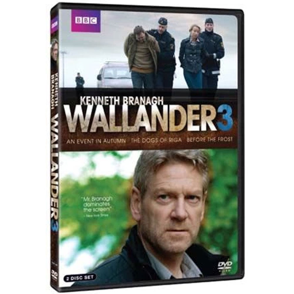 Wallander 3: An Event in Autumn/the Dogs of Riga/Before the Frost
