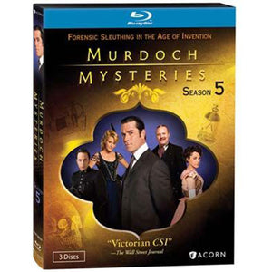Murdoch Mysteries: Season 5 (Blu-ray)