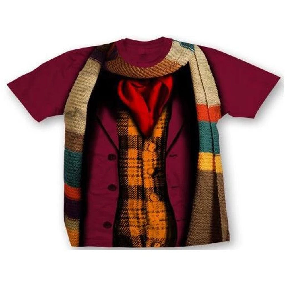 Doctor Who: Fourth Doctor Costume T-Shirt