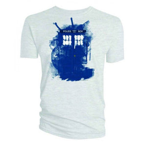 Doctor Who: Modern TARDIS Men's T-Shirt