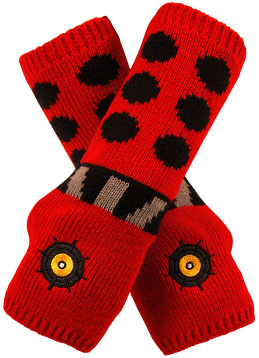 Doctor Who: Dalek Arm Warmers Red