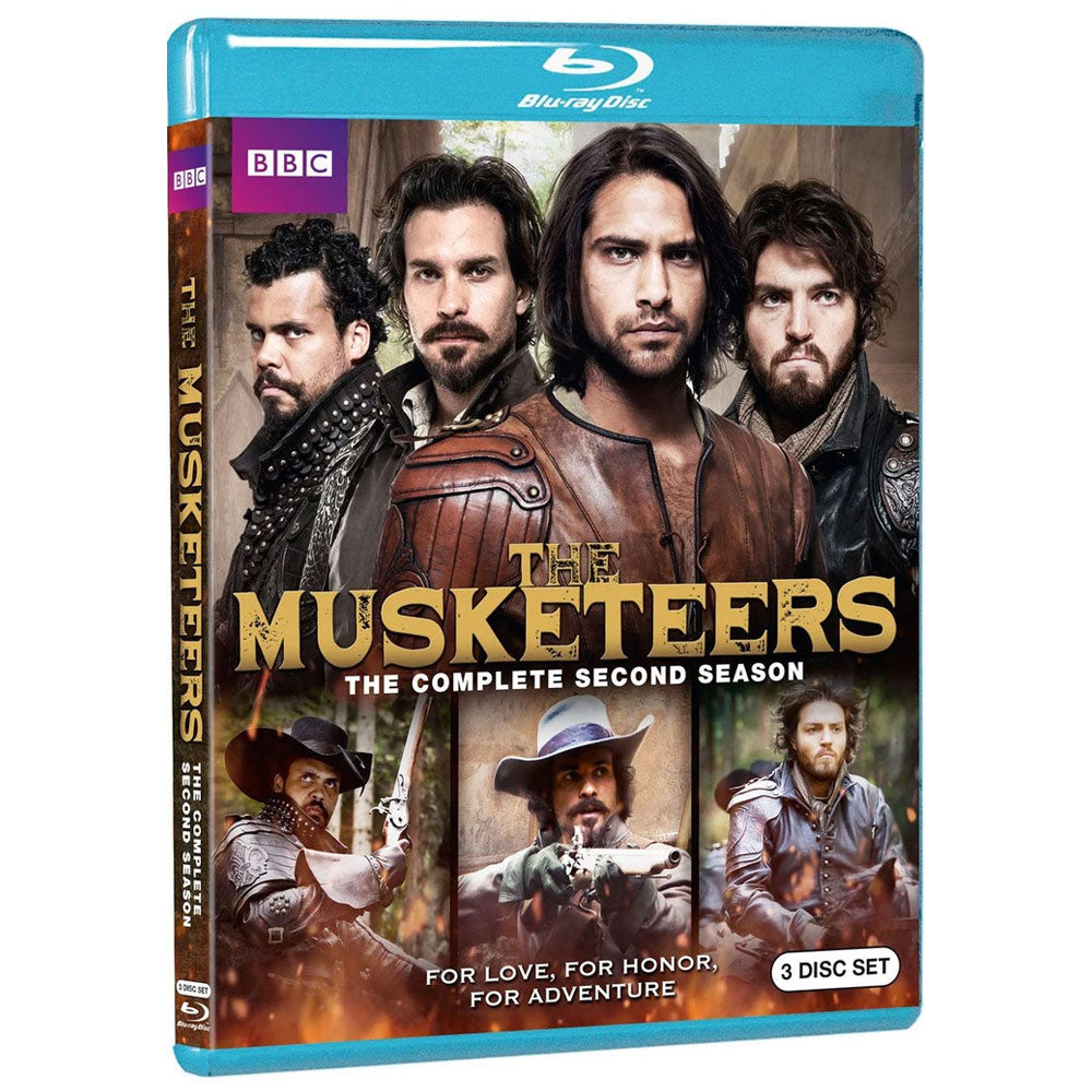 The Musketeers: Season 2 (Blu-ray)