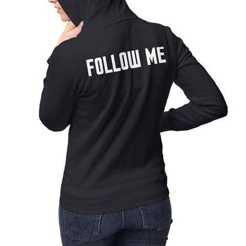 Doctor Who: TARDIS Follow Me Ladies Hoodie
