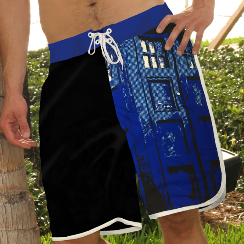 Doctor Who: TARDIS Board Shorts