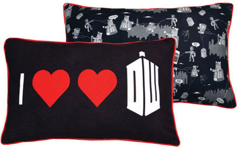 Doctor Who: Double Heart Cushion