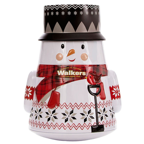 Walker's Shortbread Snowman Tin