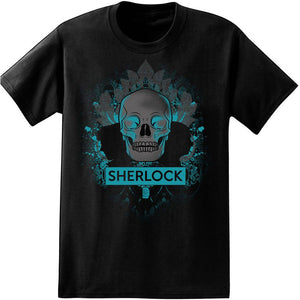 Sherlock: Skull and Silhouette T-Shirt