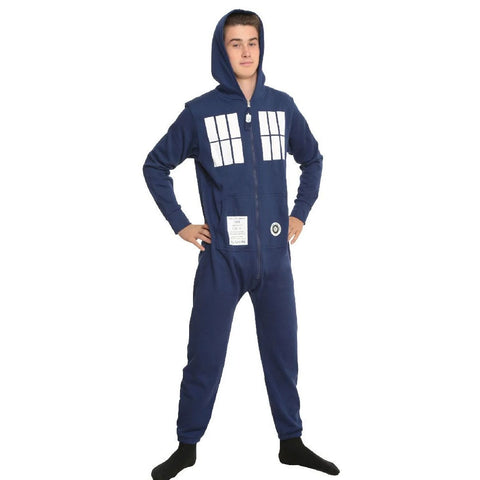 Doctor Who: TARDIS Brushed Terry Onesie