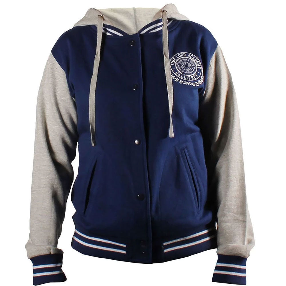 Doctor Who: Women's Navy Varsity Jacket