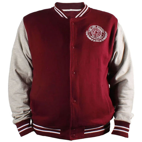 Doctor Who: Men's Burgundy Varsity Jacket