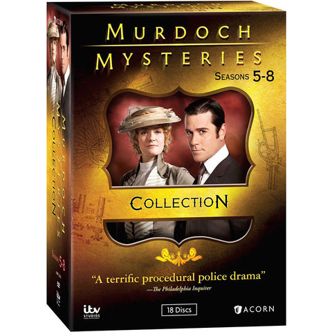 Murdoch Mysteries: Seasons 5-8 Collection
