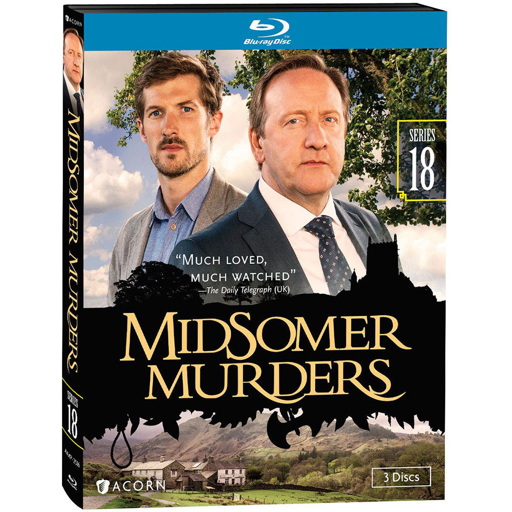 Midsomer Murders: Series 18 (Blu-Ray)