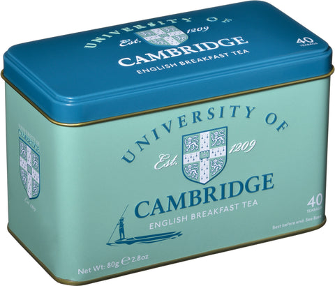 Cambridge Tin with English Breakfast Tea