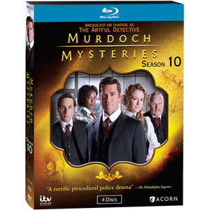 Murdoch Mysteries: Season 10 (Blu-ray)