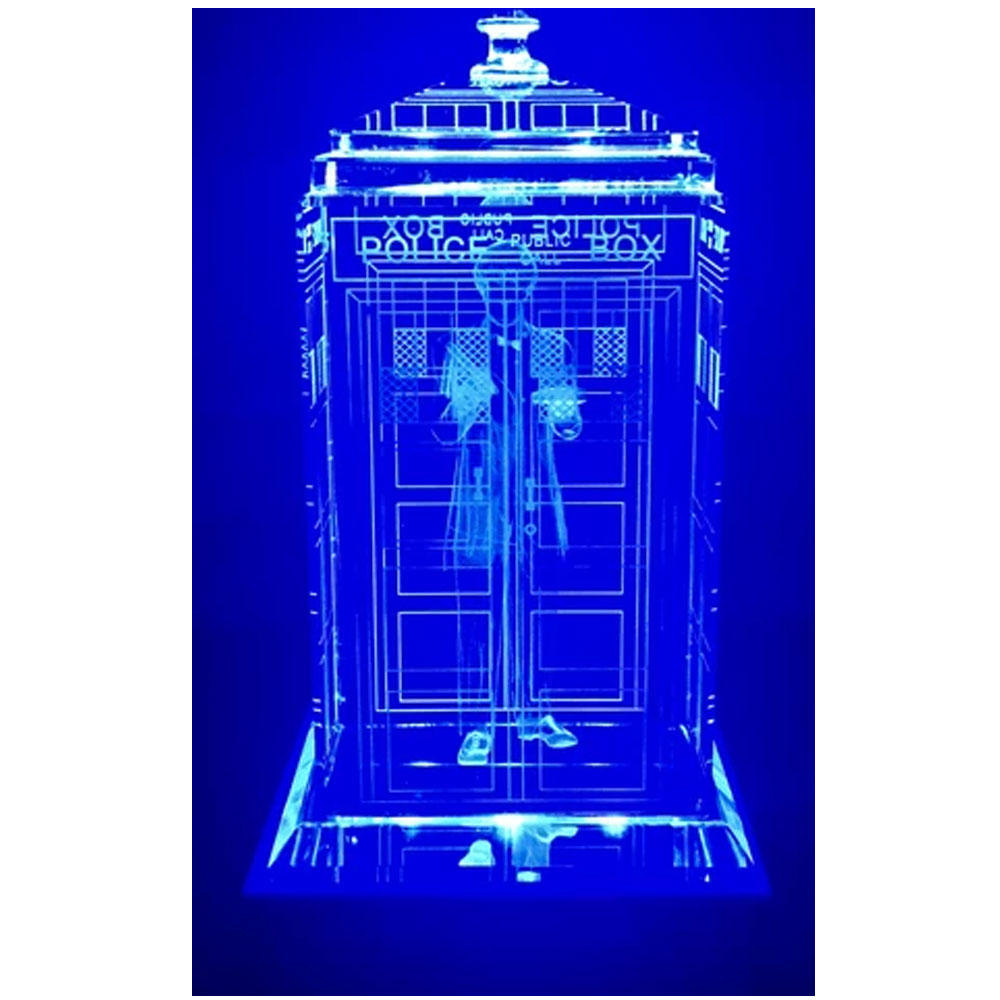 Doctor Who: Second Doctor Crystal TARDIS