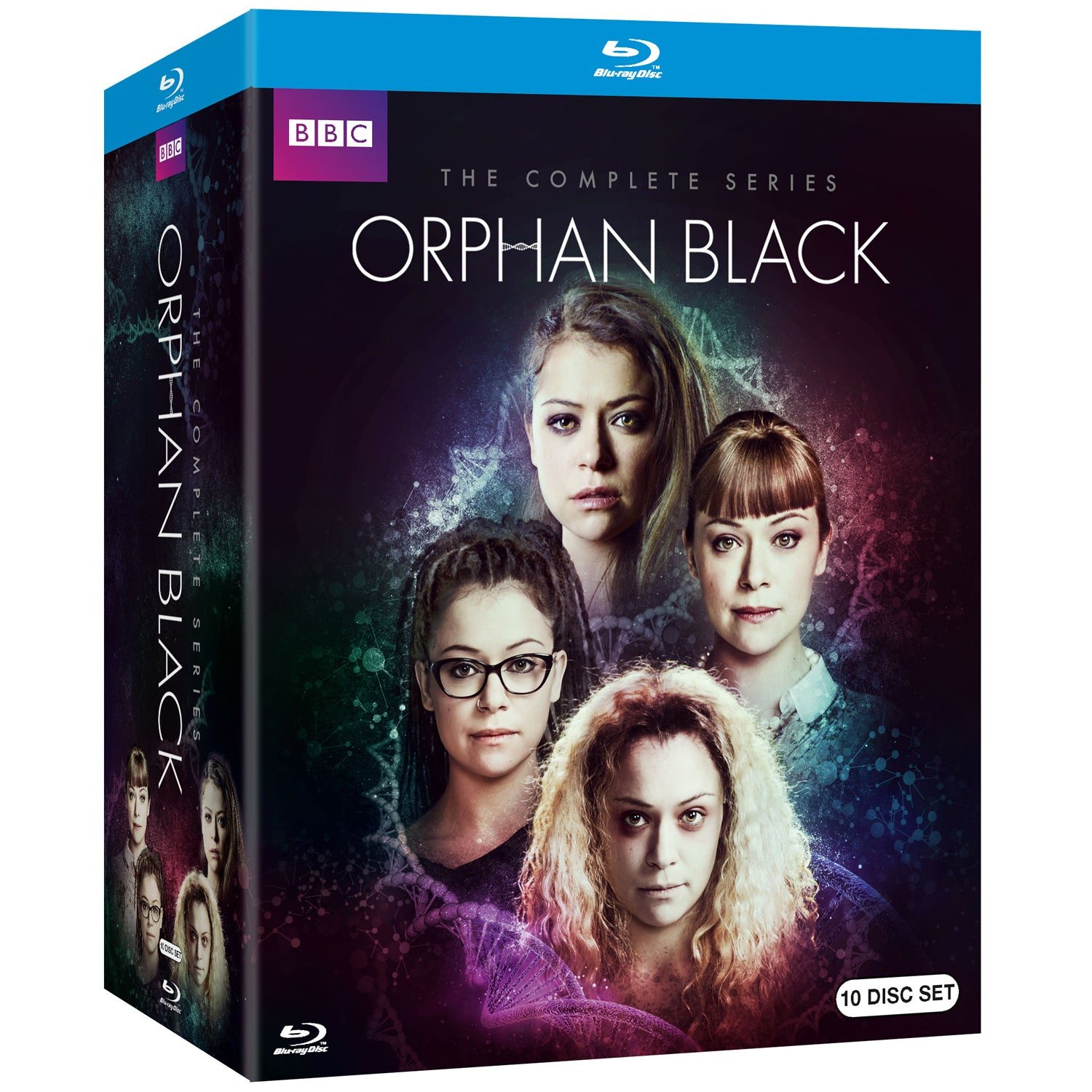 Orphan Black: The Complete Series (Blu-Ray)