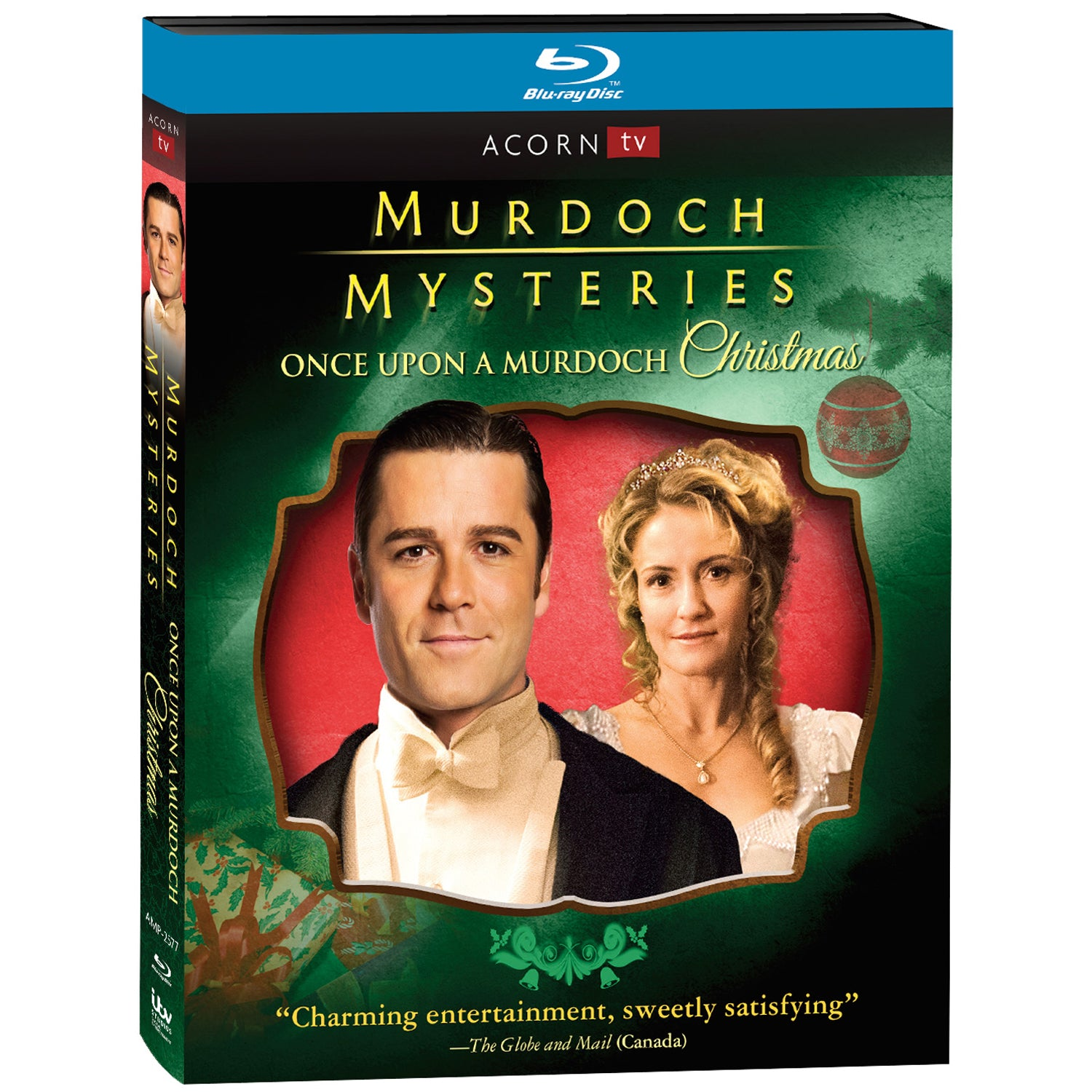 Murdoch Mysteries: Once Upon a Murdoch Christmas (Blu-ray)