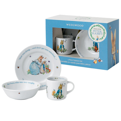 Peter Rabbit: Wedgwood Nursery Set