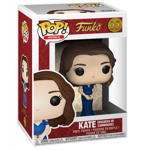 Funko Pop! Royal Family Figure: Kate Duchess of Cambridge