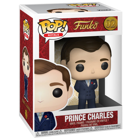 Funko Pop! Royal Family Figure: Prince Charles
