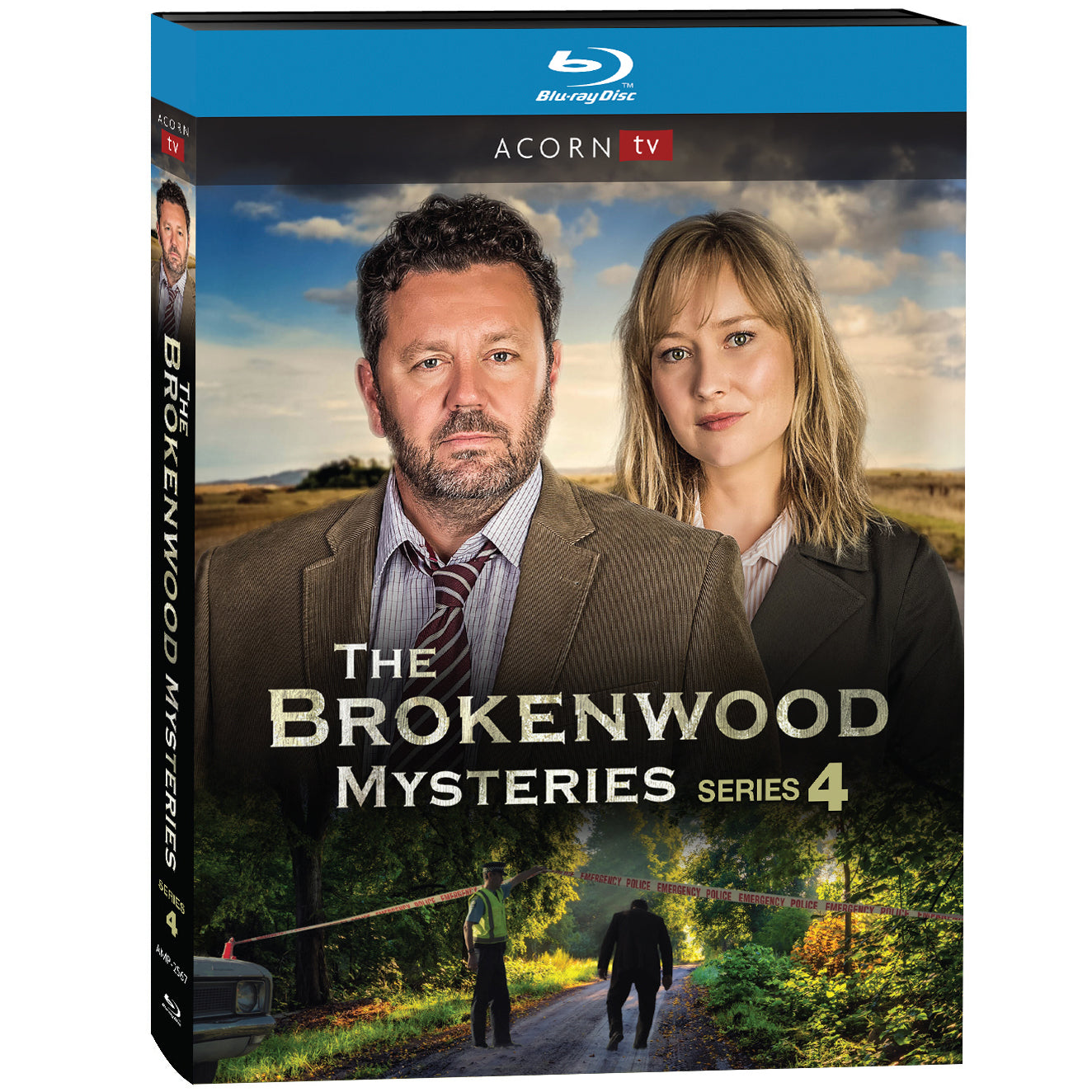 The Brokenwood Mysteries: Series 4 (Blu-ray)