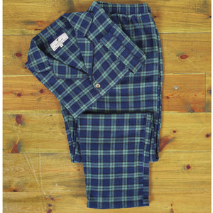 Black Watch Plaid Pajamas