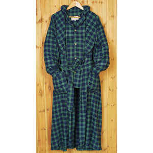 Black Watch Plaid Robe