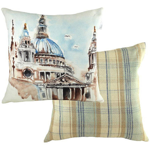 London Throw Pillow: St. Paul's Cathedral