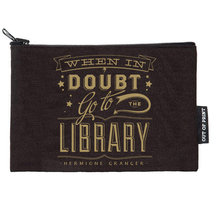 When in Doubt, Go to the Library Pouch
