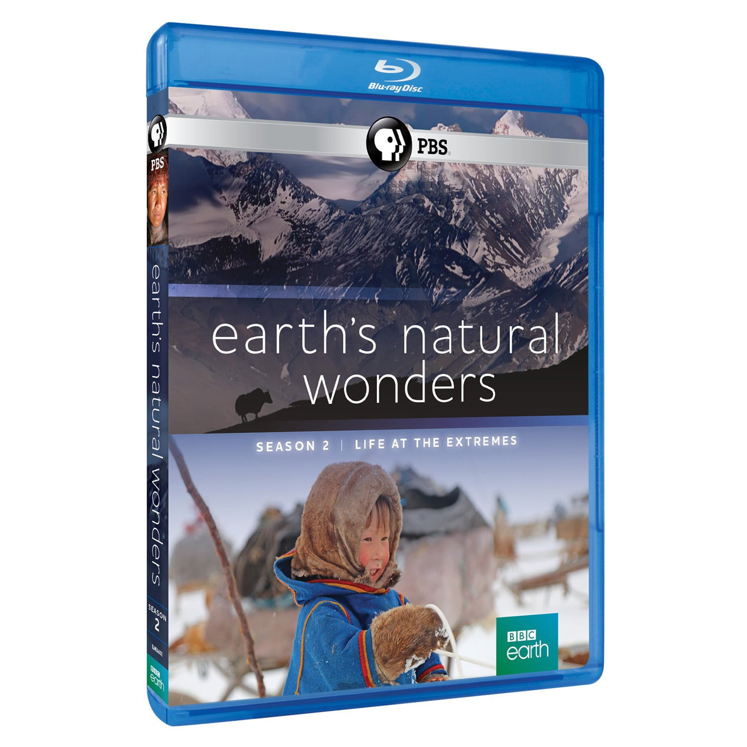 Earth's Natural Wonders: Season 2 (Blu-Ray)