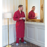 Red Plaid Robe