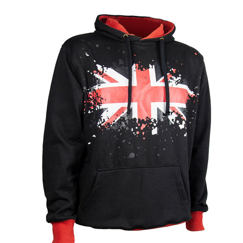 Union Jack Pullover Hoodie