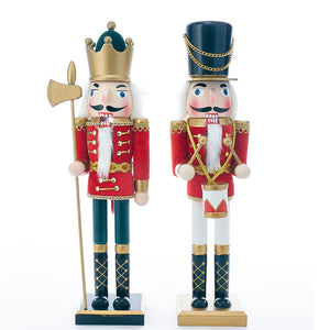 King and Soldier Nutcrackers