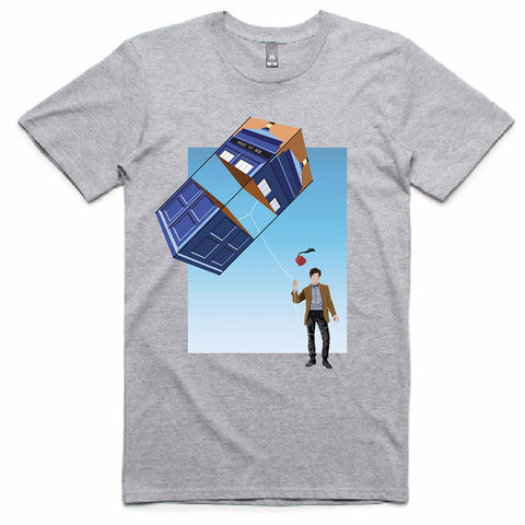 Doctor Who: TARDIS Kite T-Shirt