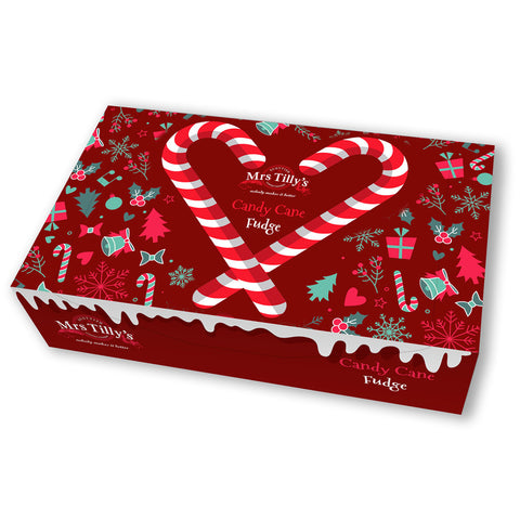 Mrs. Tilly's Candy Cane Fudge