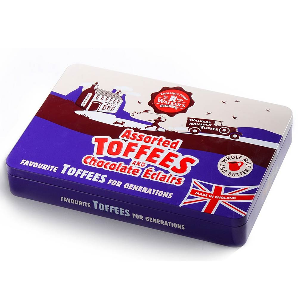 Walker's Nonsuch Toffees and 125th Anniversary Tin