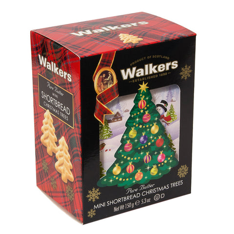 Walker's Mini Christmas Trees in 3D Carton