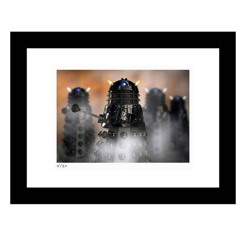 "Doctor Who: Limited-Edition Fine Art Print ""Dalek Sec"""