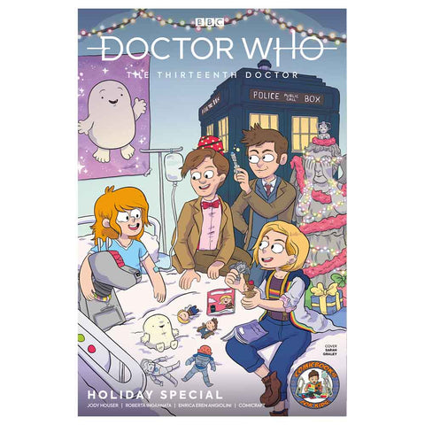 Doctor Who: The Thirteenth Doctor Holiday Comic