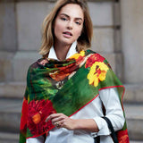 Delacroix Basket of Flowers Shawl