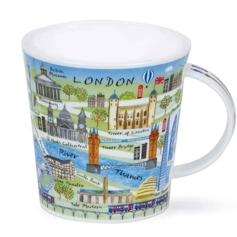 "Dunoon ""London Map"" Mug"