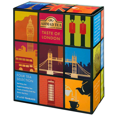 """Taste of London"" Tea Collection"