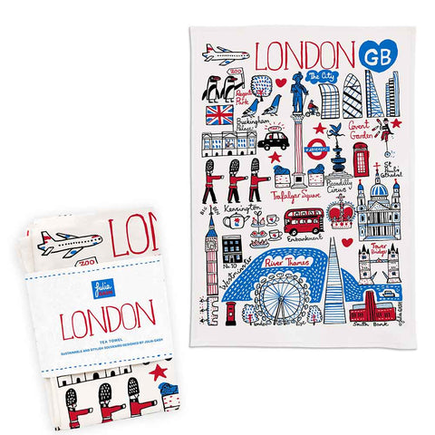 """London Cityscape"" Tea Towel"